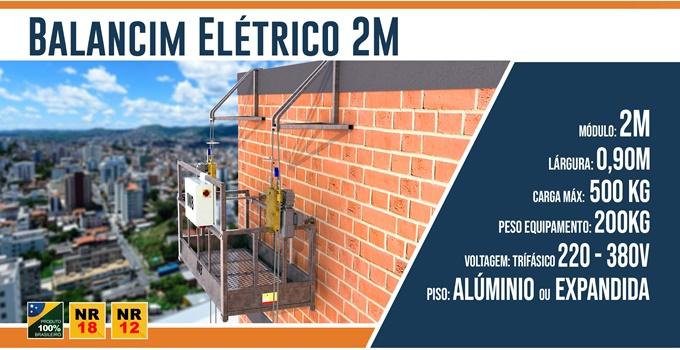 Balancim Elétrico 2 metros