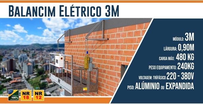 Balancim Elétrico 2M