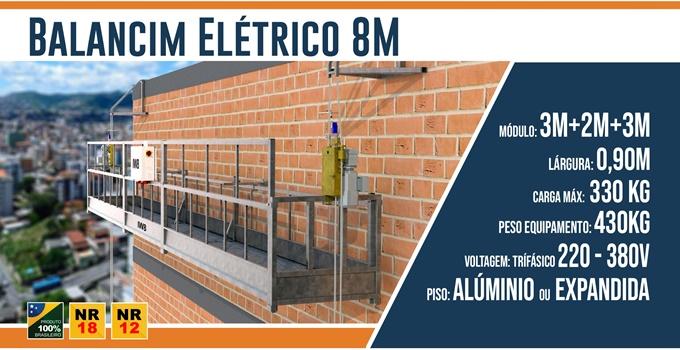 Balancim Elétrico 8 Metros